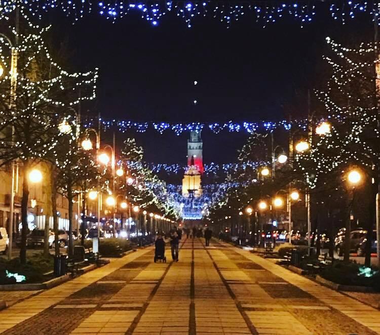 Miasto stroi się na święta