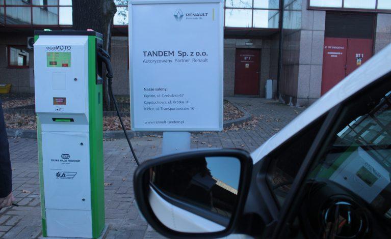 Pierwsze stacje do ładowania samochodów elektrycznych