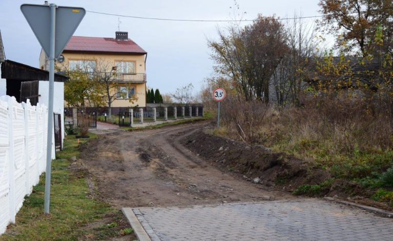 Modernizacja drogi dojazdowej