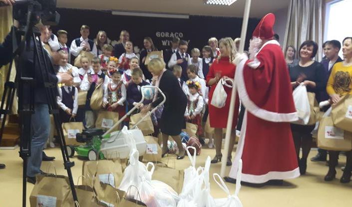 Zbierali dary dla rodaków