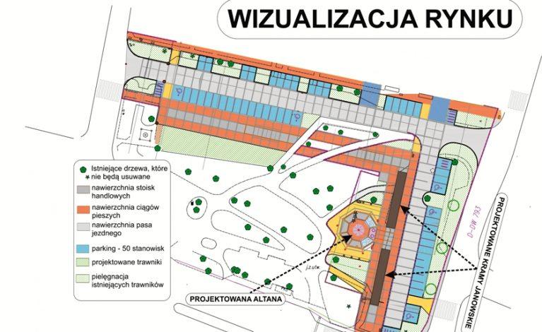 Janowski rynek do przebudowy. Umowa podpisana