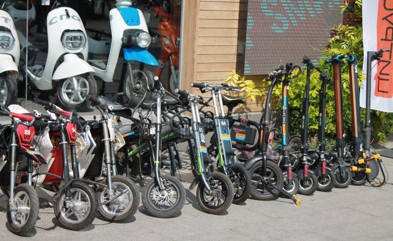 Hulajnoga elektryczna jak rower?