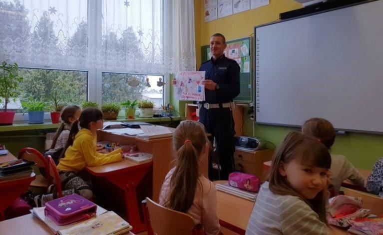 Odwiedzili szkołę w Rusinowicach