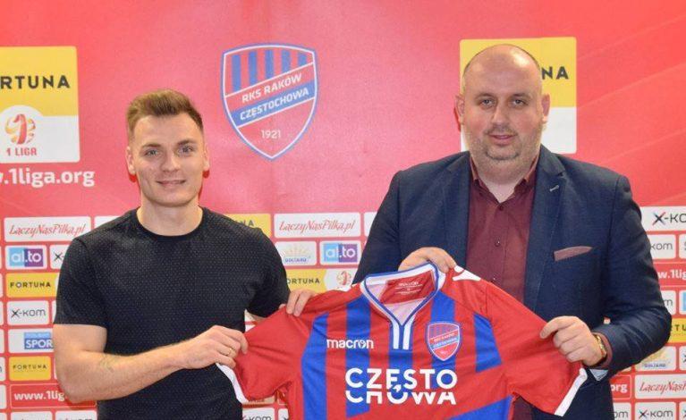 Damian Michalik będzie grał w Rakowie