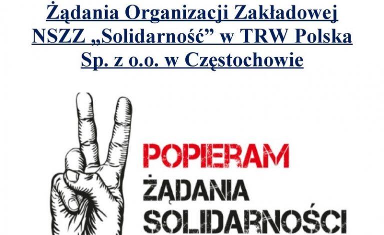 W ZF TRW dojdzie do strajku?