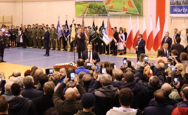 Prezydent Andrzej Duda w Kłobucku
