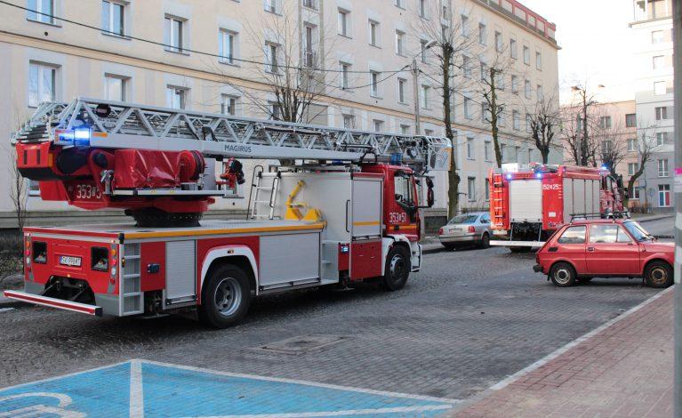 Czujka postawiła na nogi strażaków