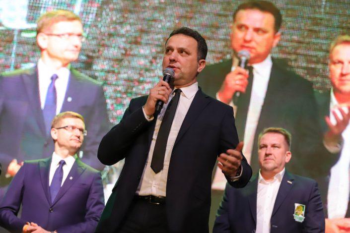Prezentacja forBET Włókniarz Częstochowa z Zenkiem Martyniukiem