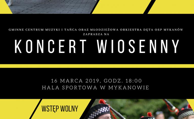 Koncert Wiosenny w Mykanowie