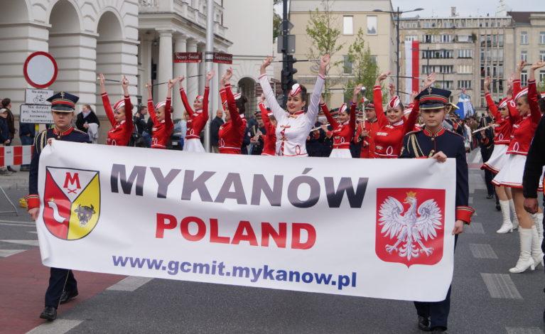 Zespoły z naszego regionu na Biało-Czerwonym Korowodzie w Warszawie