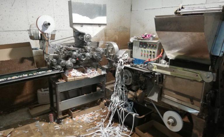Fabryka lewych papierosów zlikwidowana