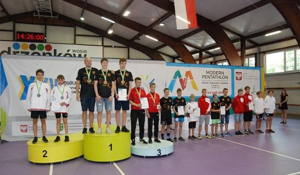 Zawodnicy z Częstochowy na podium XXV Ogólnopolskiej Olimpiady w Sportach Letnich