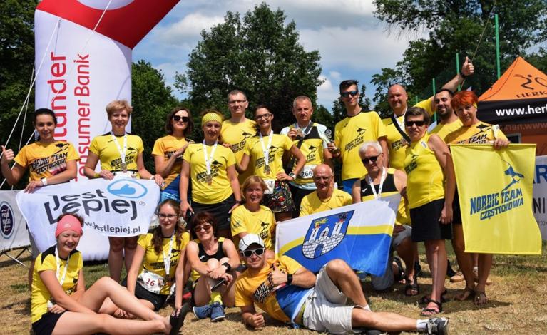 Puchar Polski w Nordic Walking. Świetne starty częstochowskich kijarzy