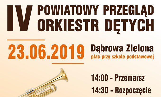 IV Powiatowy Przegląd Orkiestr
