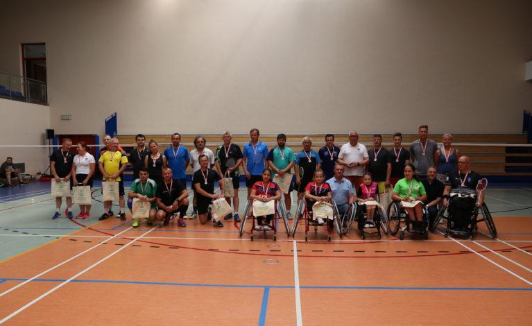 Poczesna. Zawody w badmintonie i parabadmintonie