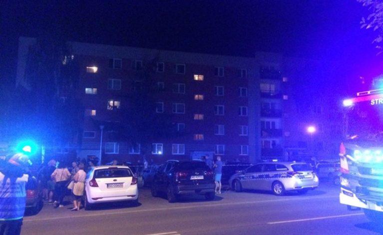 Wybuch w jednym z bloków w dzielnicy Północ