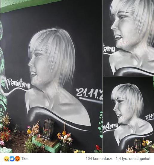 Zabójstwo 22-letniej fryzjerki: Ktoś niszczy miejsce wspomnień