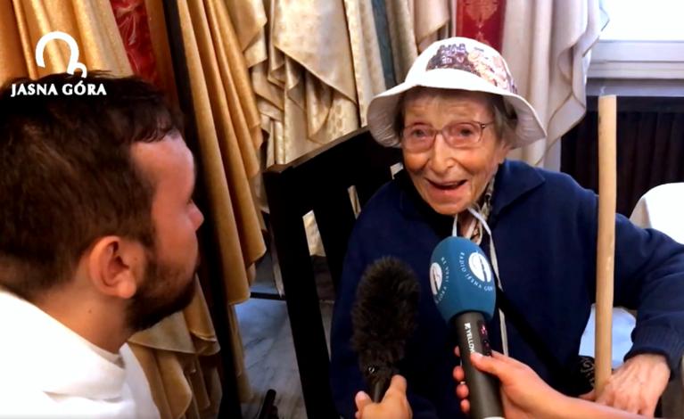 95-letnia Włoszka pokonała tysiąc kilometrów