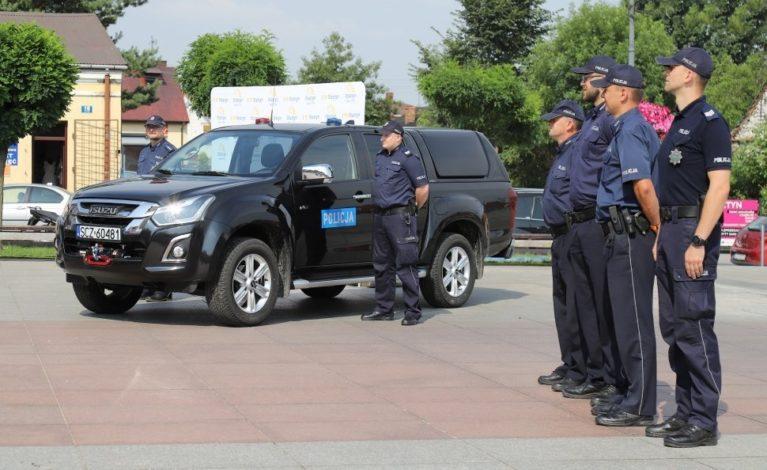 Terenowy samochód dla policjantów z Olsztyna