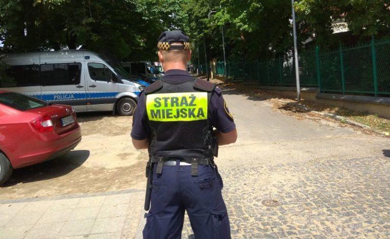 Ukradł flagę z Al. Sienkiewicza. Został ujęty przy ul. Piłsudskiego
