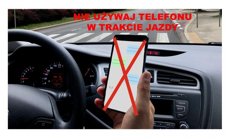 Sprawdzają, czy kierowcy korzystają z telefonów komórkowych