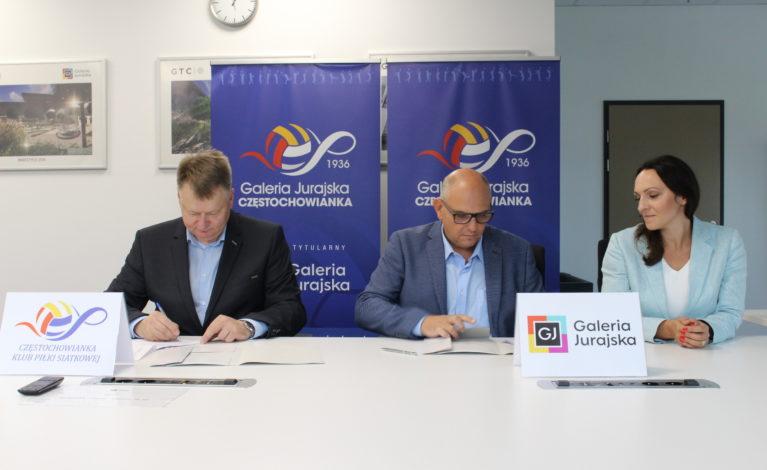Galeria Jurajska nowym sponsorem tytularnym Częstochowianki
