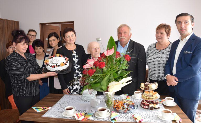 Pan Edward świętował setne urodziny!
