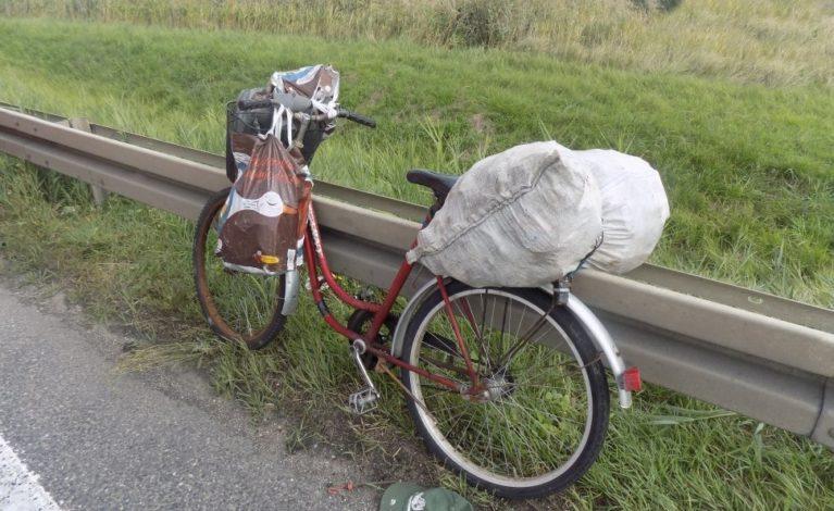 Tragedia na DK1. Nie żyje rowerzysta