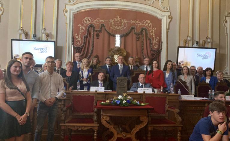 Prezydent przewodniczącym Stowarzyszenia Miast Laureatów Nagrody Europy