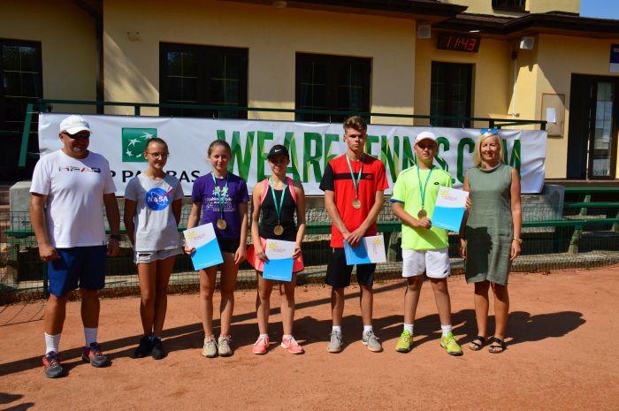 Otwarte Mistrzostwa Częstochowy w Tenisie. Rywalizowały dzieci i młodzież