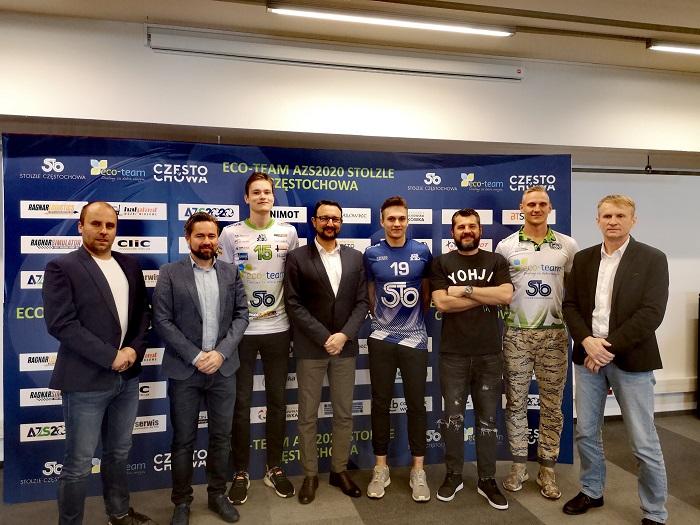 Eco-Team oraz Stolzle przedłużyło umowy sponsorskie z AZS-em 2020