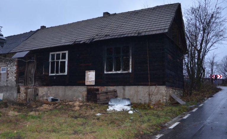 Tragiczny pożar w Łutowcu