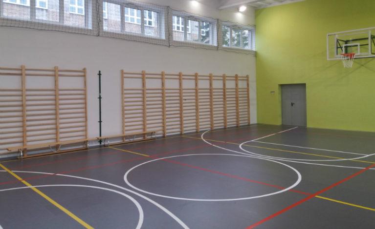 Mają nowoczesną salę gimnastyczną