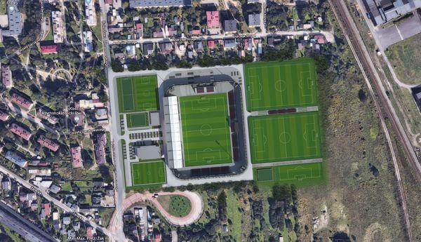 Stadion Rakowa. Złożono odwołanie dotyczące przetargu