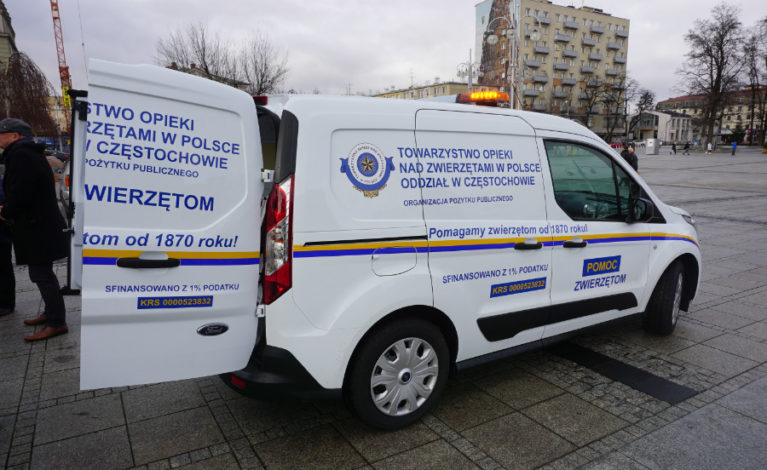 Nowy pojazd dla TOZ – na pomoc zwierzakom