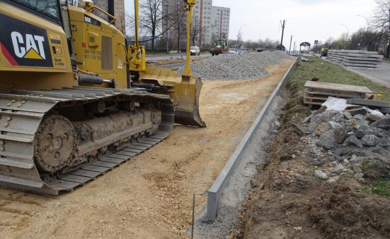Trwa wielka przebudowa linii tramwajowej