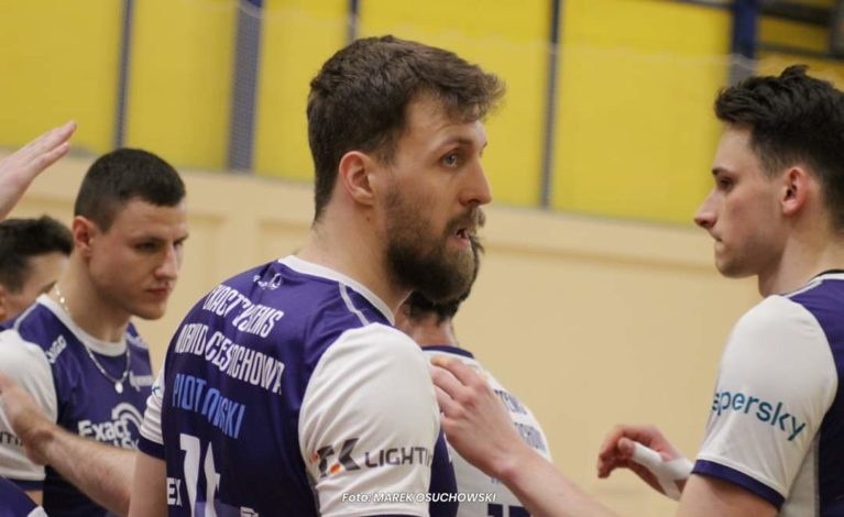 """Mateusz Piotrowski: miałem problem ze skończeniem ataku, nie mogłem """"dobić"""" się do boiska."""