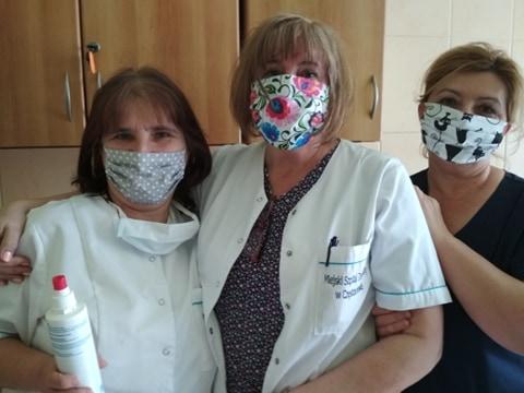 Maseczki dla pielęgniarek