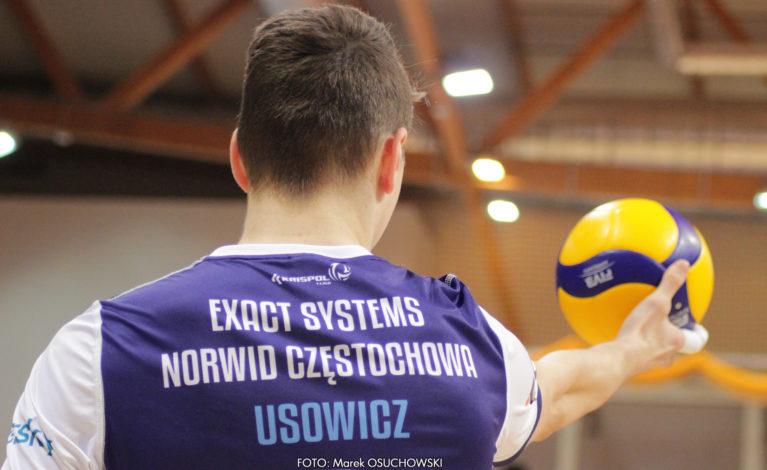 Łukasz Usowicz: najbardziej jesteśmy źli na końcówkę trzeciej partii.