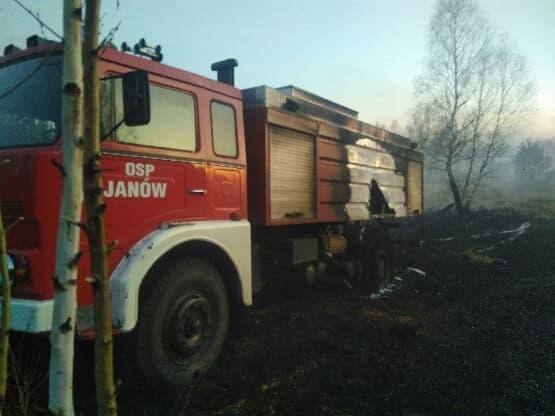 Strażacy z Janowa proszą o pomoc