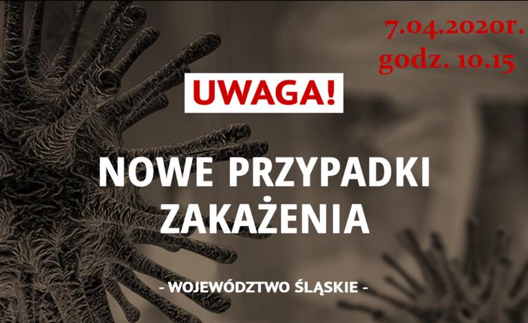 594 przypadki zakażenia w województwie śląskim