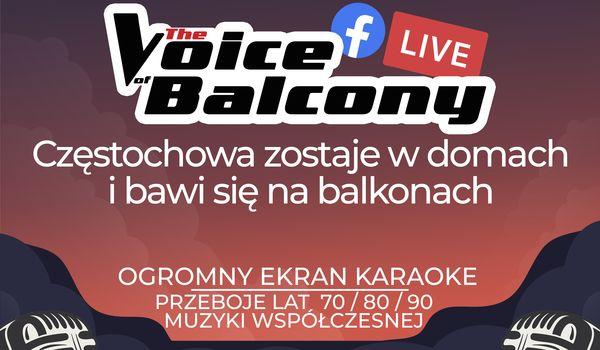 Balkonowe karaoke na Rakowie