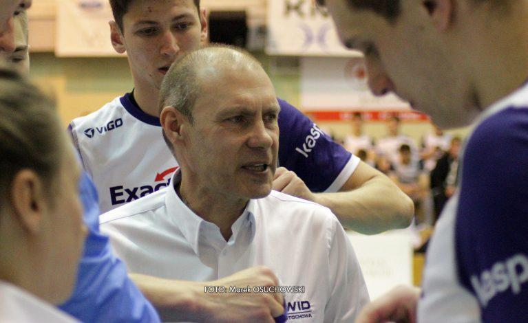 Wywiad z trenerem Exact Systems Norwid Częstochowa