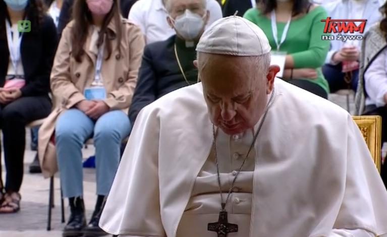 Modlili się z papieżem w intencji zakończenia pandemii