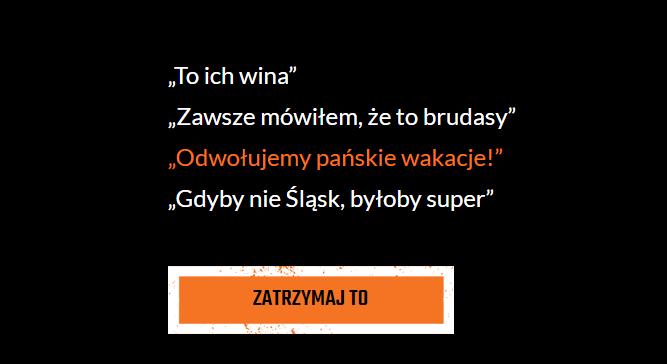 Województwo śląskie: Stop hejtowi! Nie oczerniaj górnika!