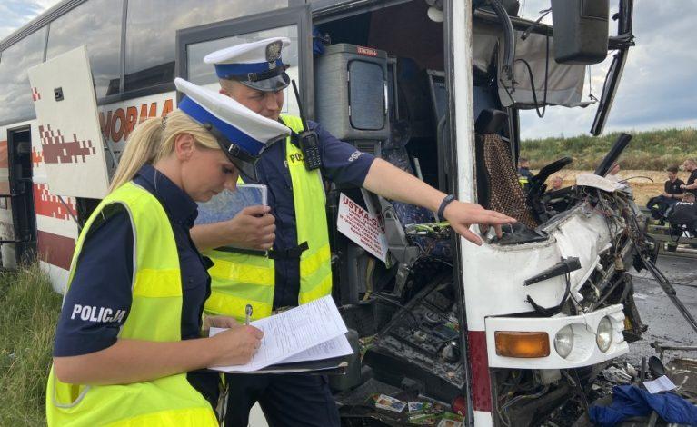 Wypadek w Bogusławicach: jest wstępna przyczyna zdarzenia