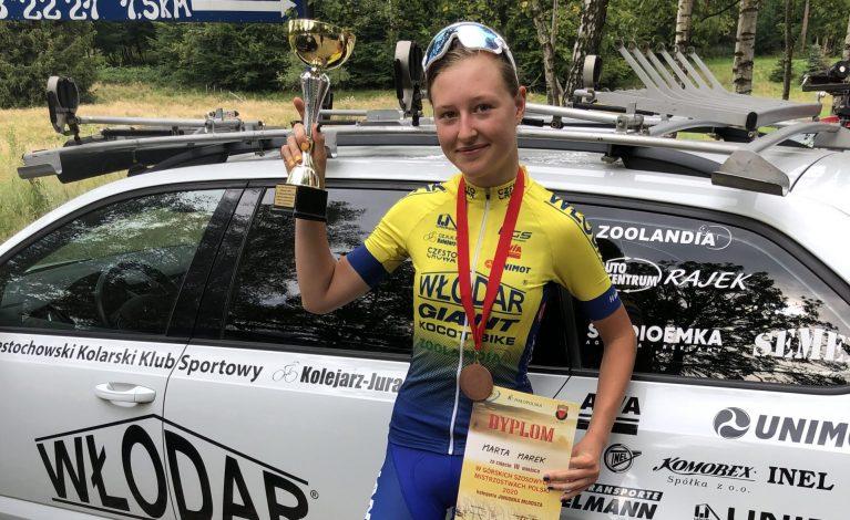 Marta Marek z brązowym medalem Górskich Mistrzostw Polski
