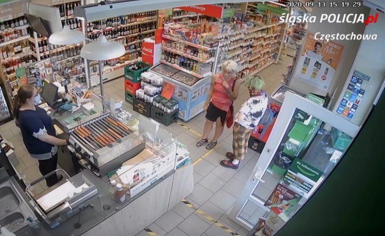Przywłaszczyły sobie kartę bankomatową i poszły na zakupy [VIDEO]