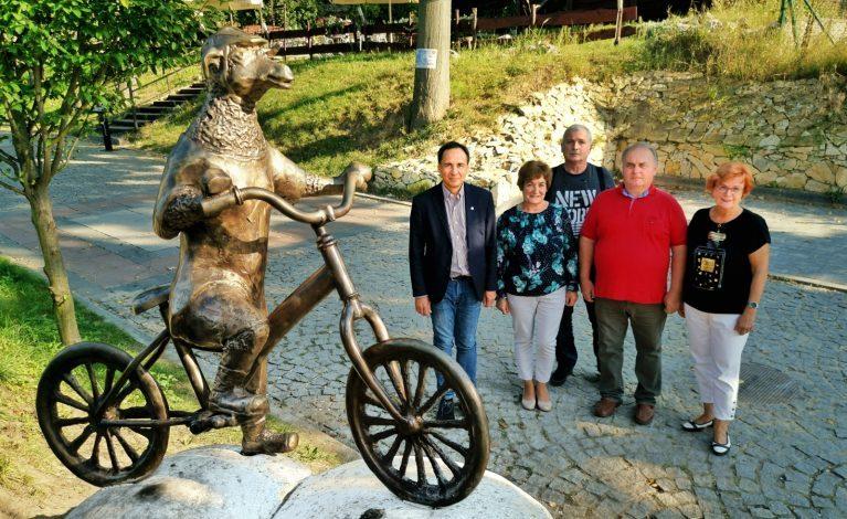 Nowa rzeźba w Olsztynie