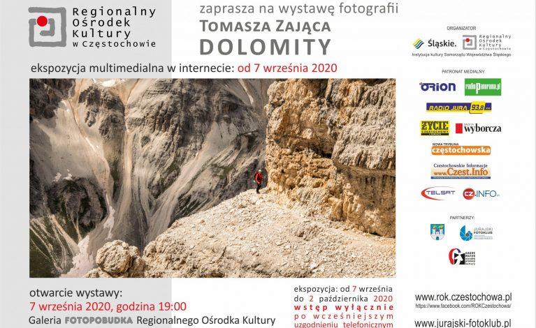 Dolomity – wystawa fotografii Tomasza Zająca już dziś w ROKu